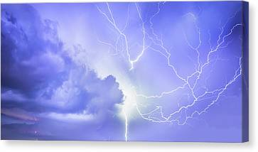Fury Of The Storm Canvas Print