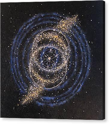 Fusional Love Canvas Print by Murielle Sunier