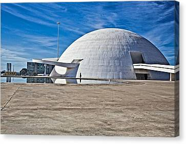Canvas Print featuring the photograph Future Dome by Kim Wilson