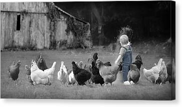 Future Farmer Canvas Print by Lori Deiter