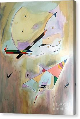 Futurity Canvas Print by David Hatton