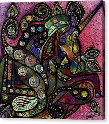 G Canvas Print by Aixa Olivo
