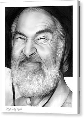 Western Canvas Print - Gabby Hayes by Greg Joens