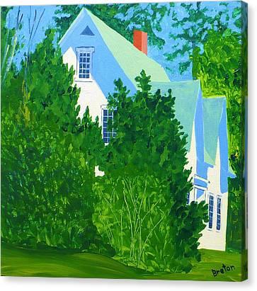 Gables Canvas Print by Laurie Breton