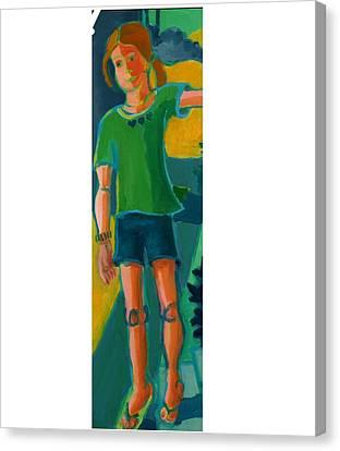 Gabrielle Canvas Print by Debra Bretton Robinson