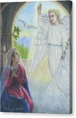 Gabriel's Revelation Canvas Print