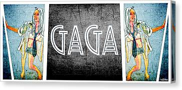 Dance You Monster Canvas Print - Gaga by Michael Spatola