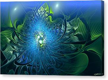 Gaia's Emergence Canvas Print by Casey Kotas