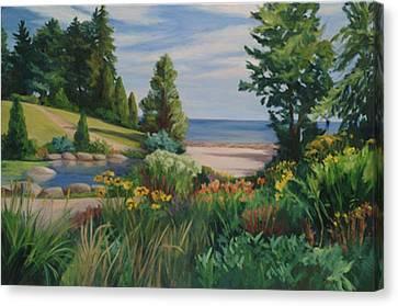 Gairloch Gardens Canvas Print