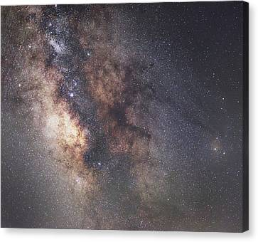 Galactic Core Canvas Print by Matt Smith