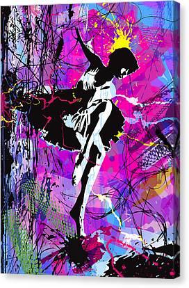 Ballerinas Canvas Print - Galagatron by Tom Deacon