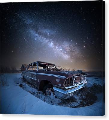 Canvas Print featuring the photograph Galaxie 500 by Aaron J Groen