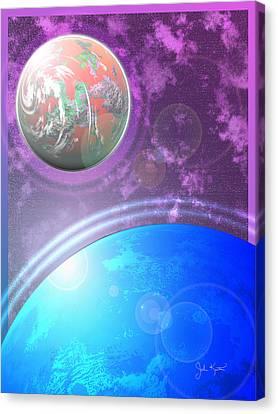 Galaxy 4 Canvas Print by John Keaton