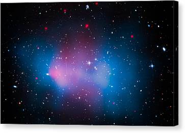 Galaxy Cluster El Gordo Canvas Print by Jennifer Rondinelli Reilly - Fine Art Photography