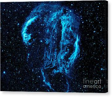 Galaxy Evolution Canvas Print by Jon Neidert