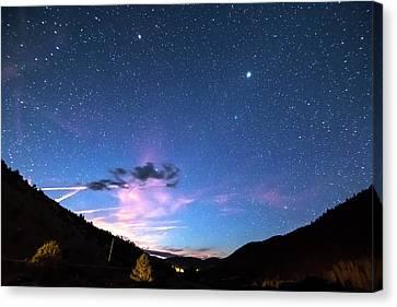 Galaxy Gazing Canvas Print by James BO Insogna