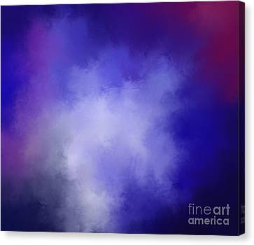 Galaxy Canvas Print by Menna Yasser