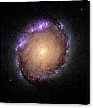 Galaxy Ngc 1512 Canvas Print