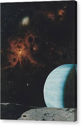 Galaxy View Canvas Print by Wally Jones