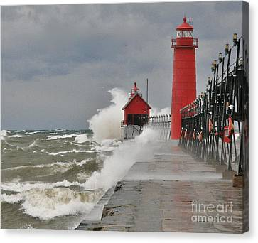 Gale Warnings Canvas Print by Robert Pearson