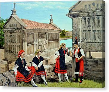 Galicia La Bella Canvas Print by Tony Banos