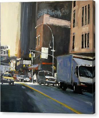 Gallery District Canvas Print by Patti Mollica