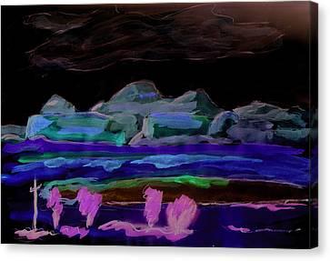 Gallup New Mexico Canvas Print by Kevin Callahan