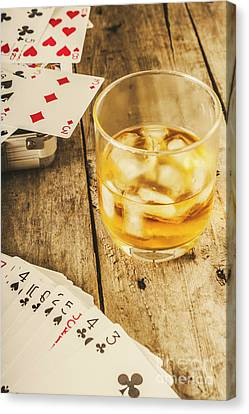 Gamblers Still Life Canvas Print by Jorgo Photography - Wall Art Gallery