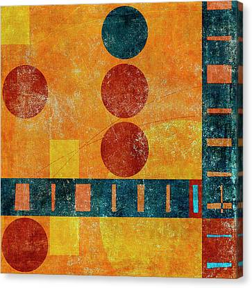 Game Board Number 1 Canvas Print by Carol Leigh
