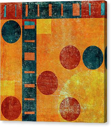 Game Board Number 2 Canvas Print by Carol Leigh
