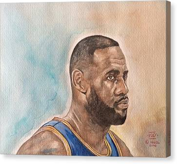Game Face Canvas Print by Nigel Wynter