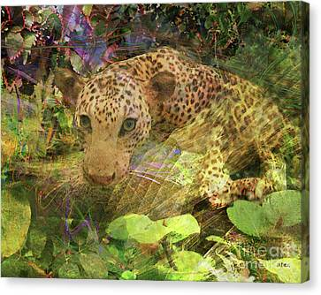 Game Spotting Canvas Print by John Beck
