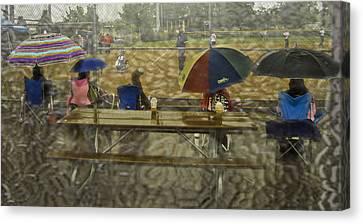 Game Watchers 2 Canvas Print by Dale Stillman