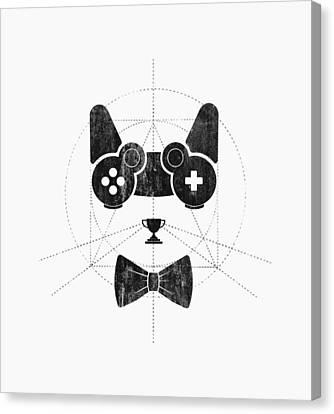 Gameow Canvas Print by Mustafa Akgul