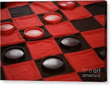Games Canvas Print by Linda Shafer