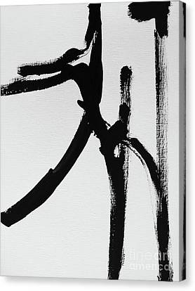 Canvas Print featuring the painting Gamut by Robin Maria Pedrero