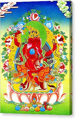 Ganapati 9 Canvas Print