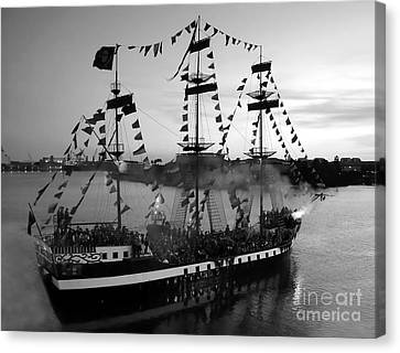 Gang Of Pirates Canvas Print by David Lee Thompson