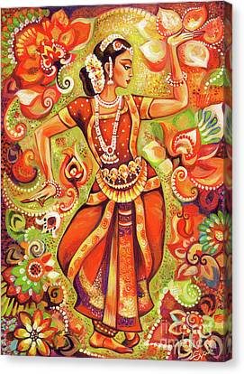 Ganges Flower Canvas Print