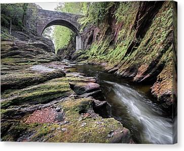 Gannochy Bridge Canvas Print