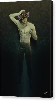 Ganymede - Giton Canvas Print
