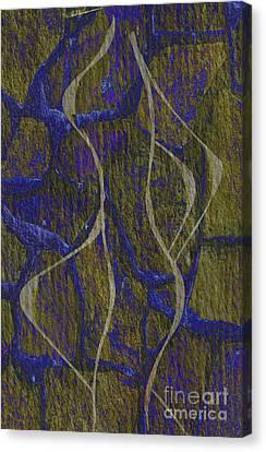 Abstract Digital Canvas Print - Gap No More by Eva Maria Nova