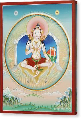 Tibetan Canvas Print - Garab Dorje by Sergey Noskov