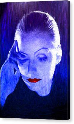 Garbo Canvas Print by Caito Junqueira