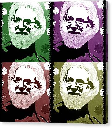 Garcia Seein Double Canvas Print by Robert Margetts