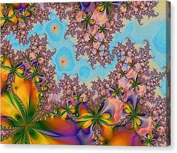 Garden 2 Canvas Print by Alexandru Bucovineanu
