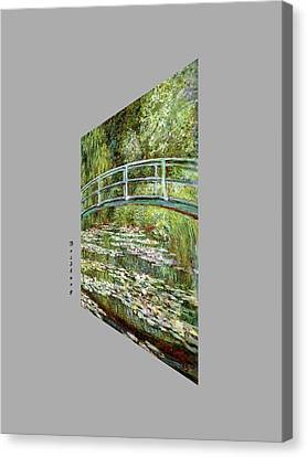 Garden At Noon Canvas Print