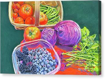 Canvas Print - Garden Blessings by Karol Wyckoff