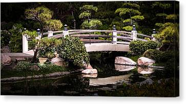 Garden Bridge Canvas Print