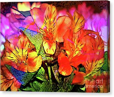 Garden Color Canvas Print by Judi Bagwell